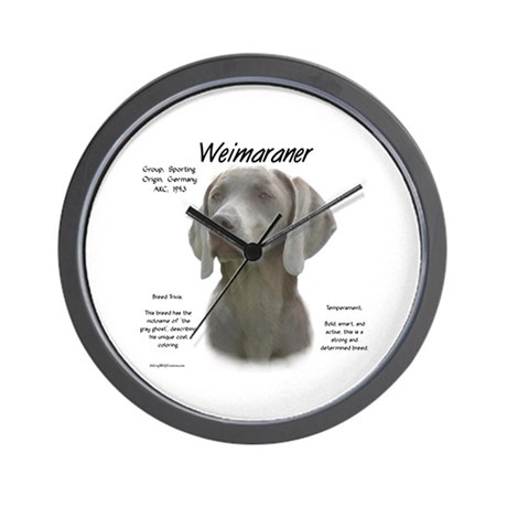 Weimaraner  Wall Clock
