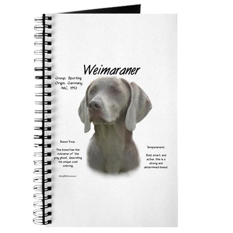 Weimaraner Journal