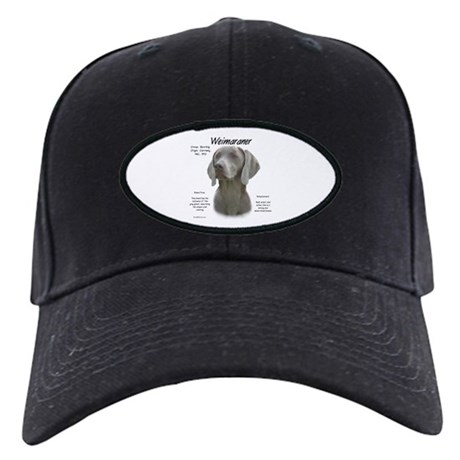 Weimaraner Black Cap