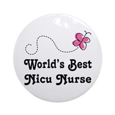 NICU Nurse (Worlds Best) Ornament (Round)