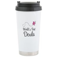Doula (Worlds Best) Ceramic Travel Mug