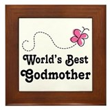 Godmother (Worlds Best) Framed Tile