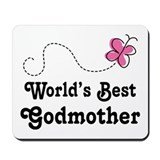 Godmother (Worlds Best) Mousepad