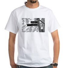 Thelonious Monk Street Sign/Passport Shirt