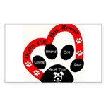 Derby City Dog Rescue Sticker (Rectangle)