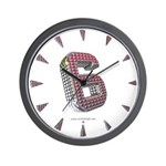 Glamor Brooch 6 Wall Clock