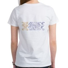 UK Flying sites ladies t-shirt