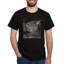 Gray Cat Russian Blue T-Shirt