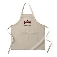 Master Chef John Apron