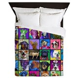 Pop Art Pet Queen Duvet
