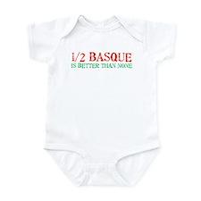 Half Basque Infant Creeper