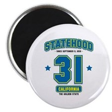 Statehood California Magnet