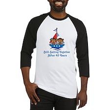43rd Anniversary Sailing Baseball Jersey