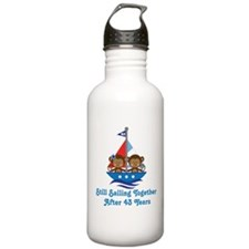 43rd Anniversary Sailing Water Bottle