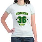 Statehood Nevada Jr. Ringer T-Shirt