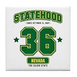 Statehood Nevada Tile Coaster