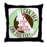 ictcyf Throw Pillow
