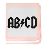 ABCD Kids' Shirt baby blanket
