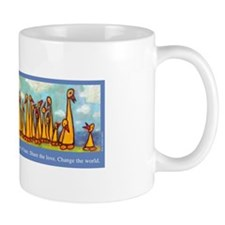 """Ducks in a Row"" Mug"