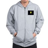 Yellow Dog Democrat Zip Hoody