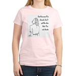Retro Chaste Women's Pink T-Shirt