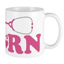 Heart RN Stethoscope Mug