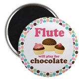 Flute Fridge Magnets