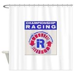 Riverside Raceway Shower Curtain