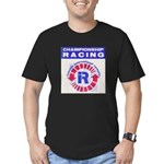 Riverside Raceway Men's Fitted T-Shirt (dark)