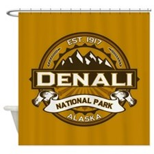 Denali Goldenrod Shower Curtain