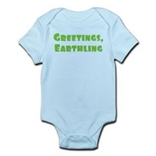 Greetings Earthling Onesie