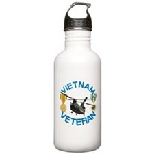 Chinook Vietnam Veteran Water Bottle