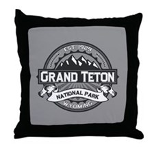Grand Teton Ansel Adams Throw Pillow