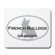 French Bulldog GRANDPA Mousepad