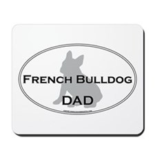 French Bulldog DAD Mousepad