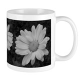 Smaller Designer Daisy Mug in Black & White