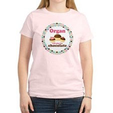 Organ Play For Chocolate Women's Light T-Shirt