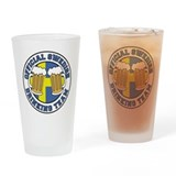 Offiical Swedish Drinking Team Drinking Glass