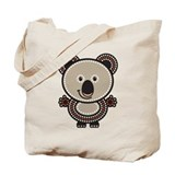 Aboriginal Koala Tote Bag