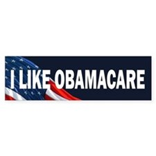 I Like Obamacare Bumper Sticker