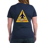 F-111 Aardvark Women's V-Neck T-Shirt (Dark)