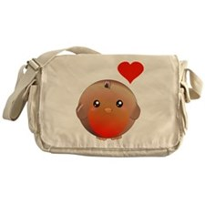 Cute bird Messenger Bag