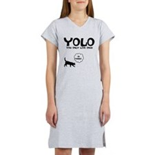 YOLO 9 LIVES Women's Nightshirt