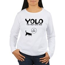 YOLO 9 LIVES T-Shirt