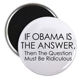 Anti Obama Magnet
