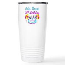 HAPPY 20TH BIRTHDAY Travel Mug
