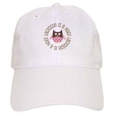 Lacrosse Is A Hoot Baseball Cap