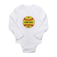 NAME NUMBER POSITION PERSONALIZED SOFTBALL Long Sl