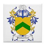 Pinkerton Coat of Arms Tile Coaster