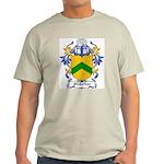 Pinkerton Coat of Arms Ash Grey T-Shirt